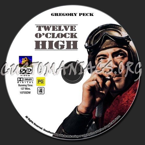 twelve o clock high Twelve o'clock high – 1949 here we have another war movie, this one starring  gregory peck as a wwii bomber pilot the film was good, but it.