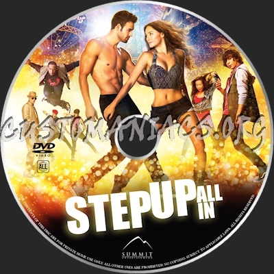 Step Up: All In dvd label