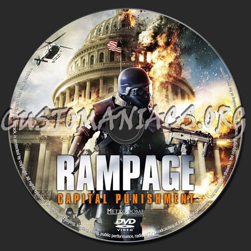 rampage capital punishment dvd label dvd covers labels by