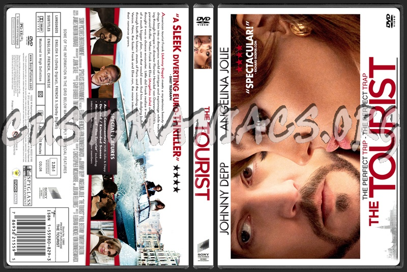 the tourist dvd cover art. The Tourist