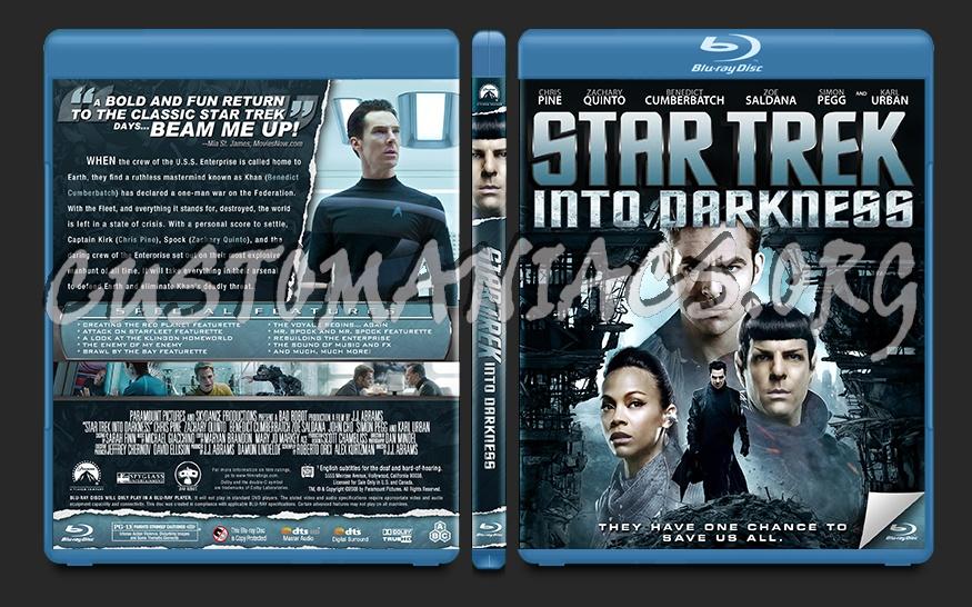 Star Trek Into Darkness Blu Ray Cover