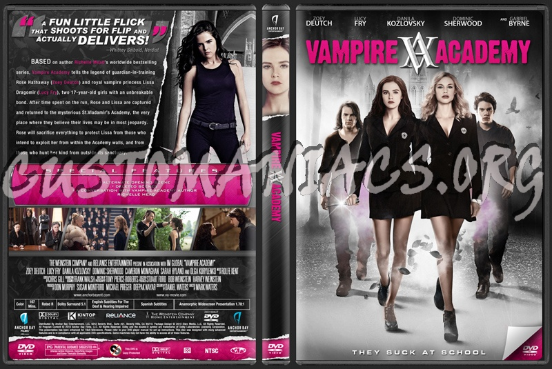 Vampire Academy Dvd Cover Forum Kaleigha Movie C...