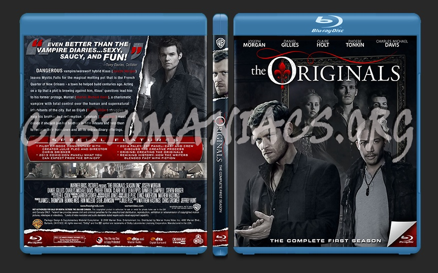The originals season 1 dvd cover