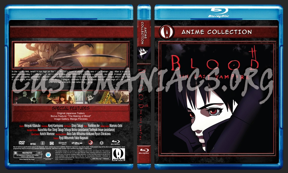 Anime Collection Blood The Last Vampire