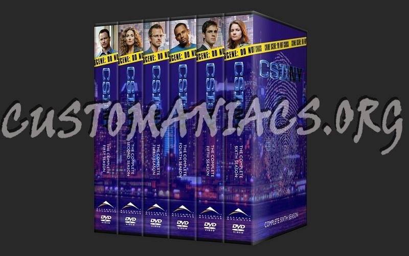 csi new york dvd