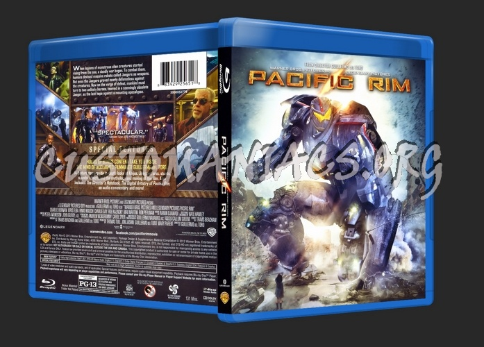 Forum Scanned Blu-Ray Covers - Page 226 - DVD Covers ... Pacific Rim Blu Ray Cover