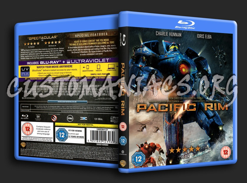 Forum Scanned Blu-Ray Covers - Page 87 - DVD Covers ... Pacific Rim Blu Ray Cover