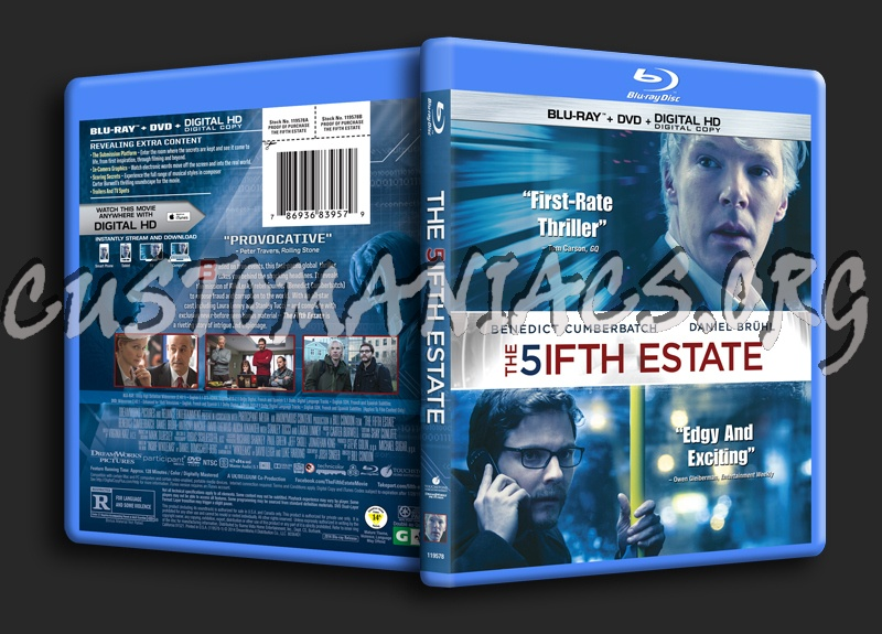 The fifth estate blu ray