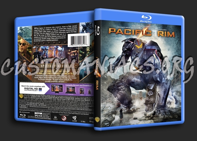 Forum Scanned Blu-Ray Covers - Page 79 - DVD Covers ... Pacific Rim Blu Ray Cover
