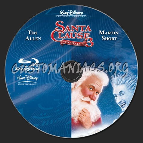 the santa clause 3 blu ray