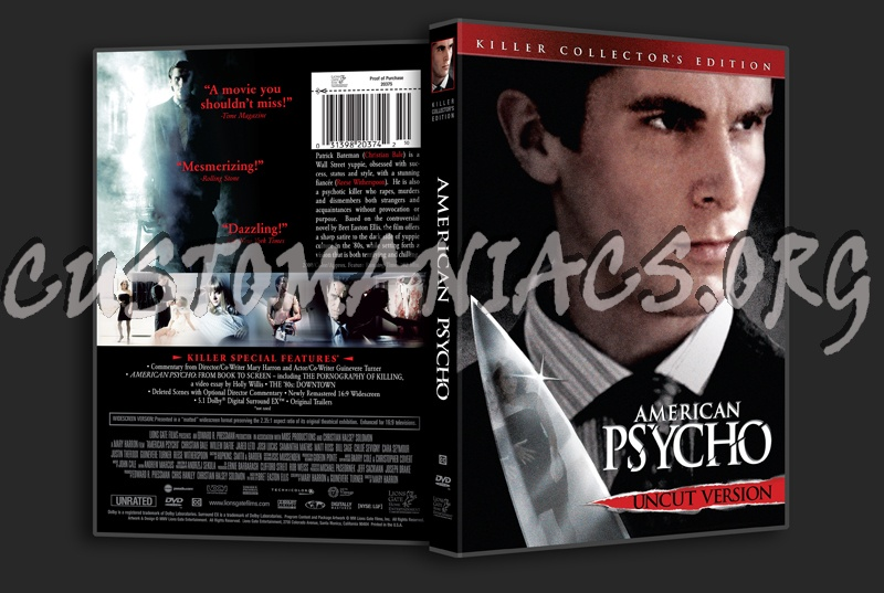 the american psycho the bell Title: american psycho (2000) 76 /10 want to share imdb's rating on your own site use the html below.