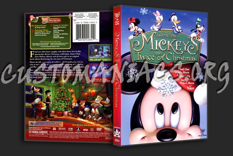 Mickey Mouse Twice Upon A Christmas Dvd.Forum Scanned Covers Page 156 Dvd Covers Labels By