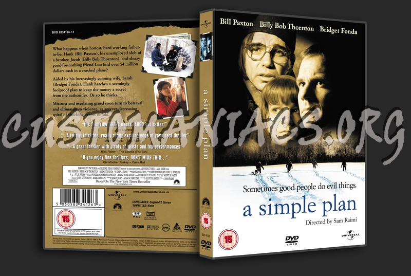 Simple Plan Dvd a Simple Plan Dvd Cover