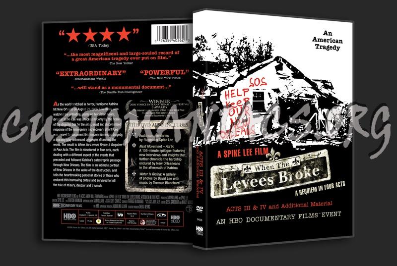 when the leeves broke When the levees broke: a requiem in four acts is a 2006 documentary film directed by spike lee about the devastation of new orleans,.
