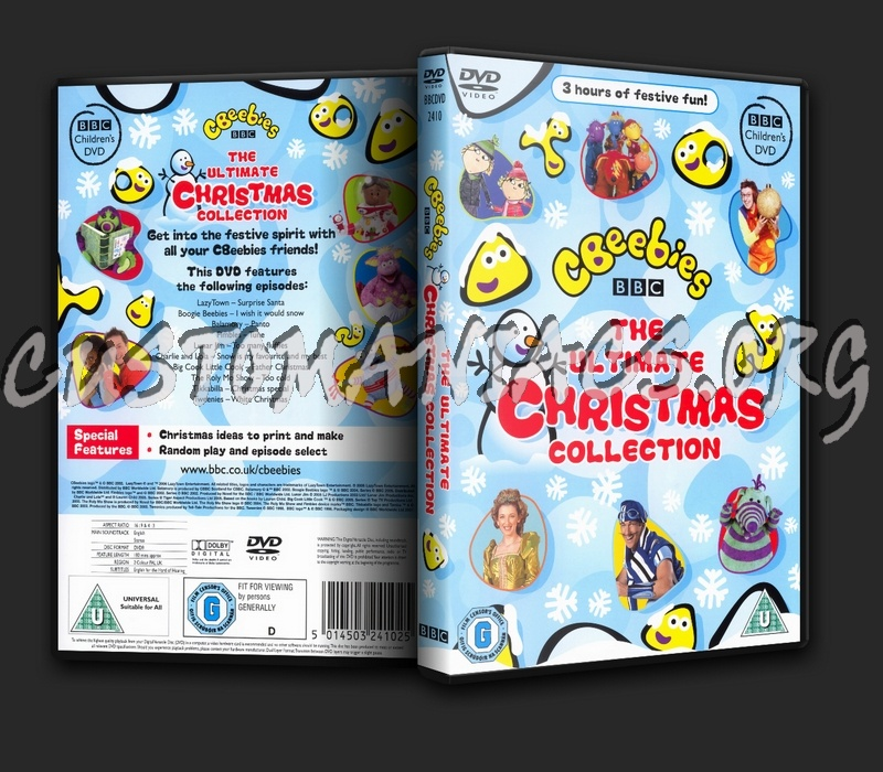 Ultimate Christmas Collection: DVD Covers & Labels By