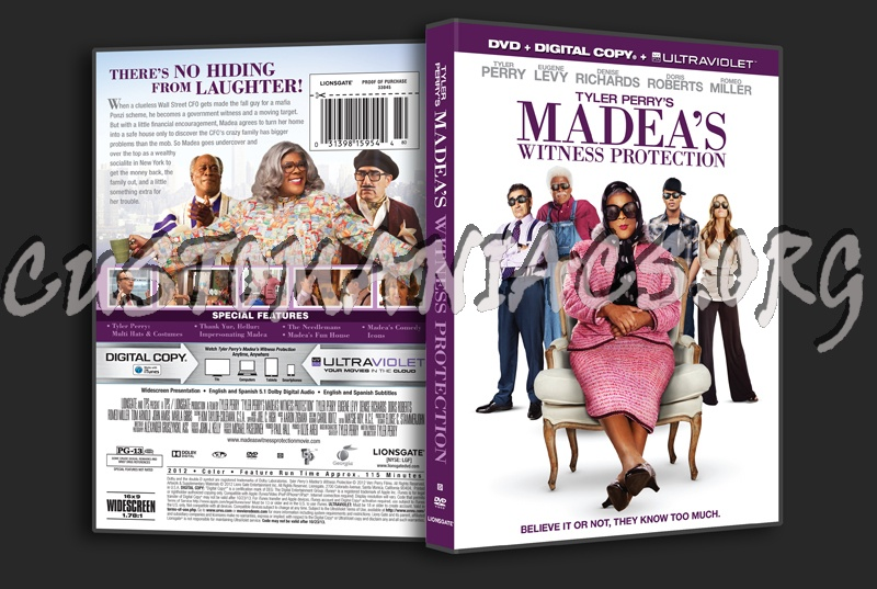 madeas witness protection dvd cover - photo #14