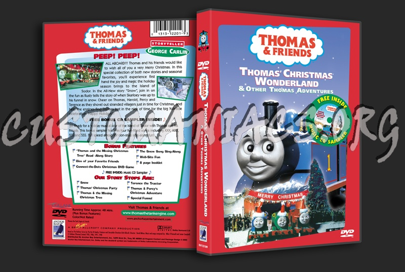 Thomas Christmas Wonderland Vhs.Forum Scanned Covers Page 566 Dvd Covers Labels By