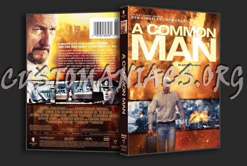 DVD Covers & Labels by Customaniacs A Common Man Dvd