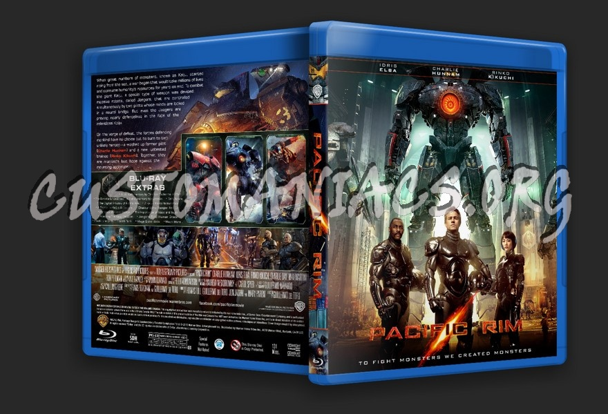 Forum sleepyhead Blu-ray Covers - DVD Covers & Labels by ... Pacific Rim Blu Ray Cover