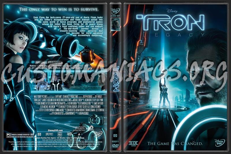 tron legacy dvd cover art. TRON: Legacy