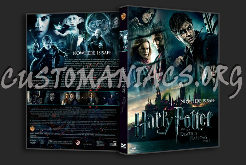 harry potter and the deathly hallows dvd cover art. Harry Potter and the Deathly