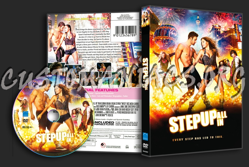 Step Up All In dvd cover
