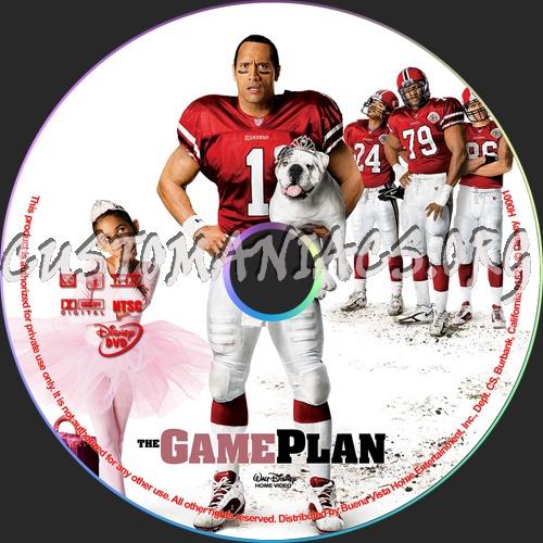 Game Plan Dvd The Game Plan Dvd Label