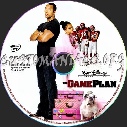 Game Plan Dvd The Game Plan