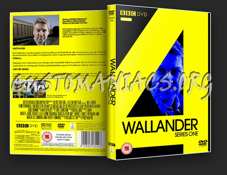 Wallander Series One dvd cover