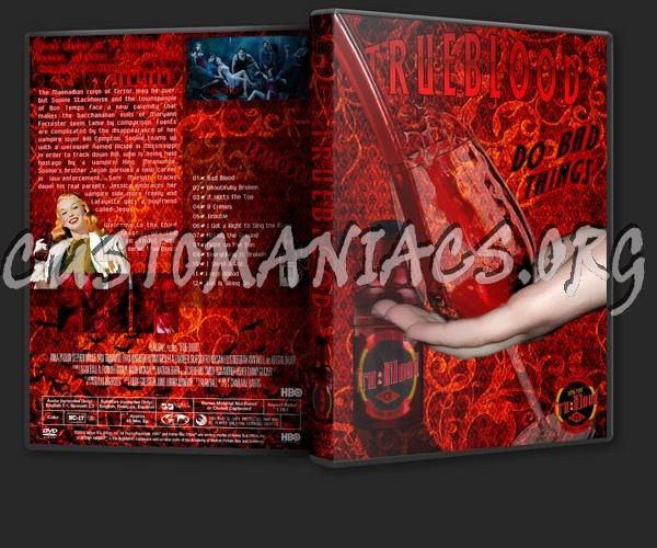 true blood season 3 dvd cover. house True Blood Season 3 DVD