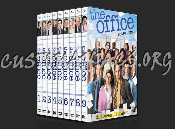 The Office Seasons 1 9 Dvd Cover