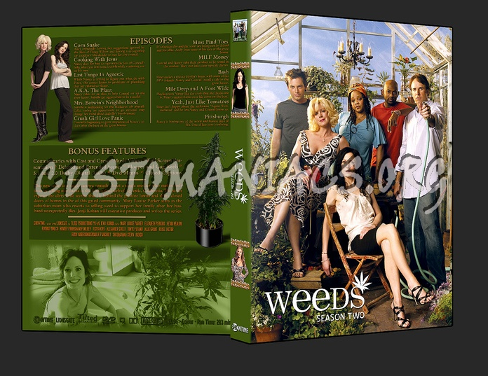 weeds season 3 dvd. 3 DVD Cover weeds season 3