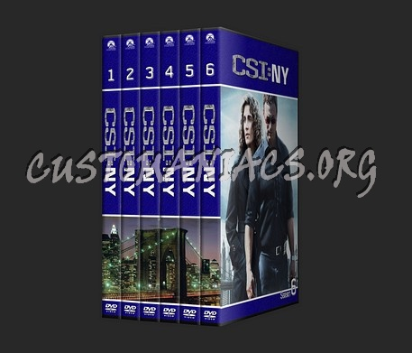 csi new york dvd