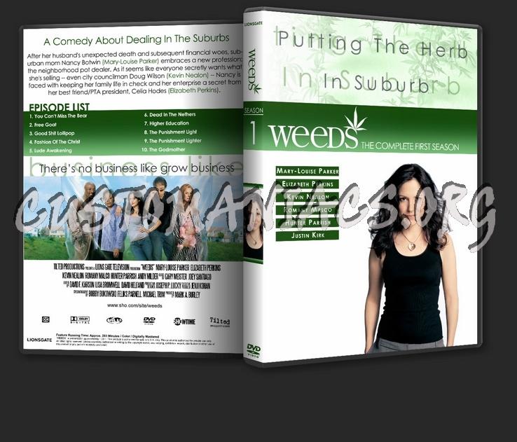 weeds season 1 dvd cover. Weeds Season 1-3