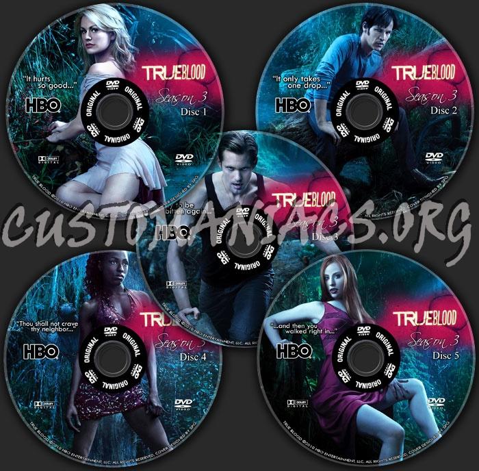 true blood season 3 dvd cover. True Blood Season 3
