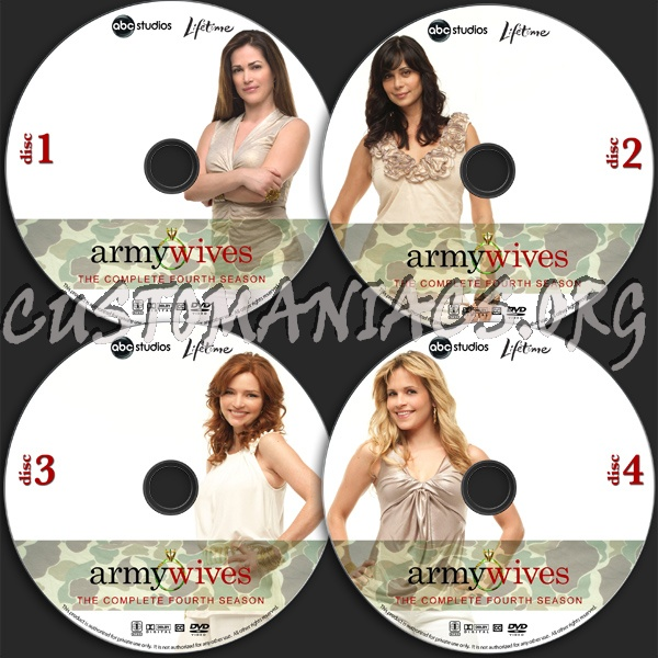 Army Wives - Season 4 dvd label