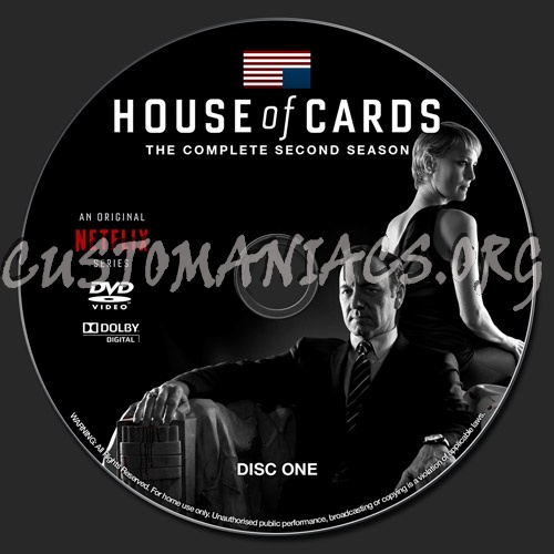 House of Cards  Season 4 disc 2  DVD Covers amp Labels by