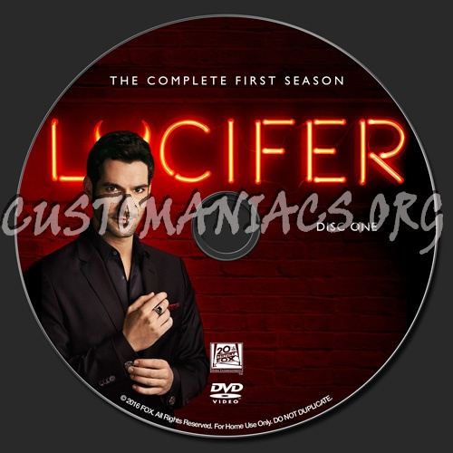 Lucifer Season 1: Forum TV-Show Custom Labels