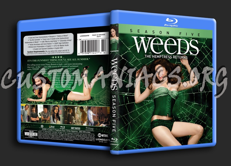 weeds season 5 cover. Weeds Season 5