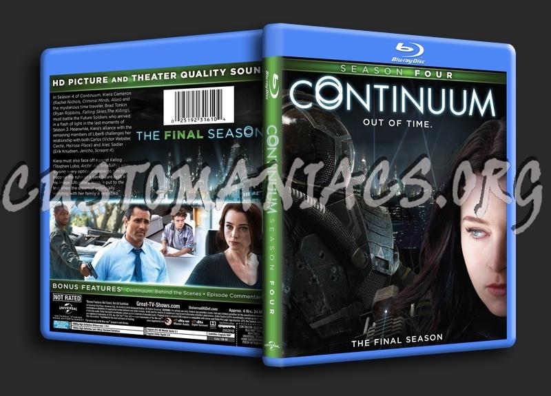 Continuum Season 4 Blu Ray Cover