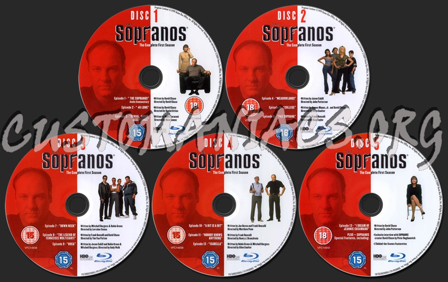 Forum TV-Show Scanned Blu-Ray Labels - Page 9 - DVD Covers