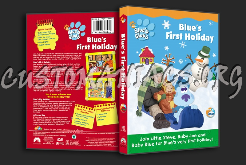 Blues clues blues first holiday dvd - La fitness in