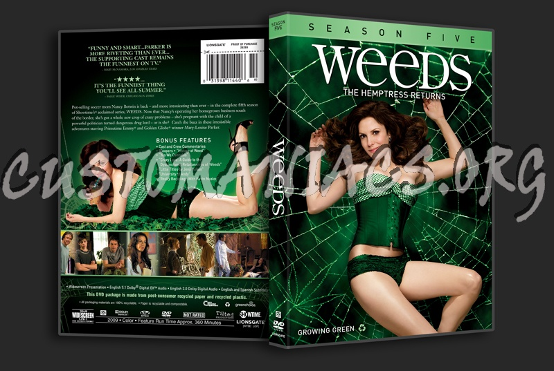weeds season 3 dvd cover. Weeds Season 5