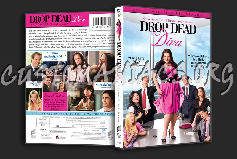 Forum tv show scanned covers page 143 dvd covers - Drop dead diva seasons ...