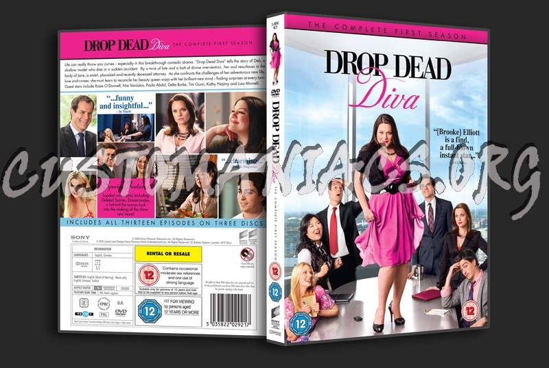 Forum tv show scanned covers page 192 dvd covers labels by customaniacs - Drop dead diva season 1 ...