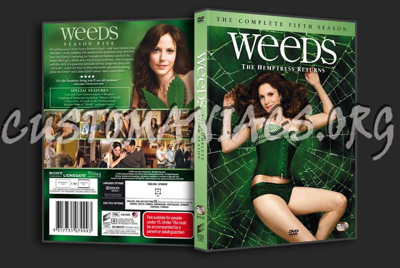 weeds season 5 dvd cover. Weeds Season 5
