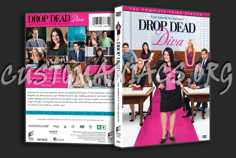 Forum tv show scanned covers page 34 dvd covers labels by customaniacs - Drop dead diva dvd ...