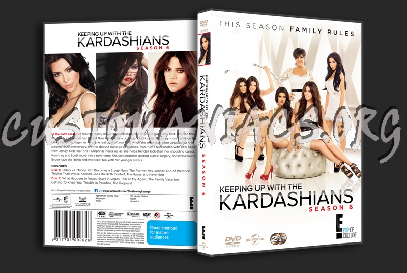 Forum tv show scanned covers page 102 dvd covers - Keeping up with the kardashians show order ...