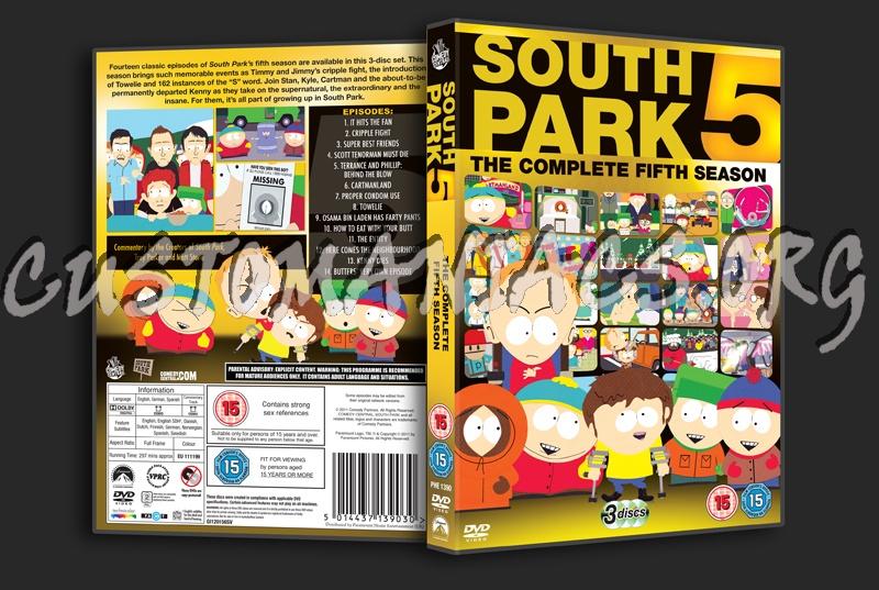 south park season 7 dvd
