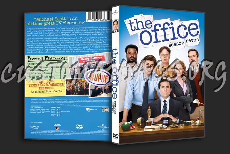 The Office Season 7 Dvd Cover